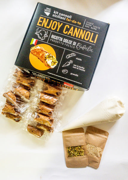Kit Family - cannoli siciliani mignon - 20pz