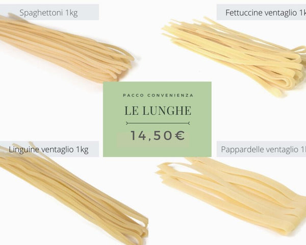 "Pacco ""Le Lunghe"" - 4Kg"