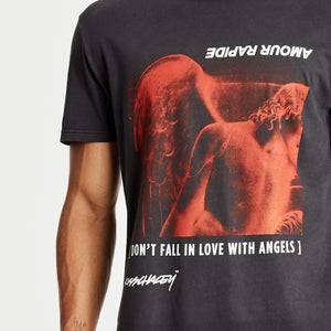 Arch Angels Relaxed T-Shirt Heavy Metal Black