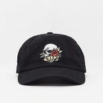 Dead Rose Dad Cap Vintage Black