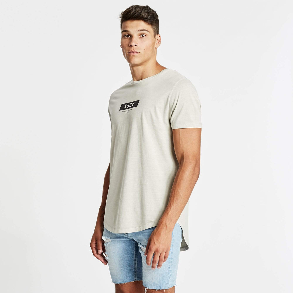 Department of Strength Dual Curved T-Shirt Pigment Stone