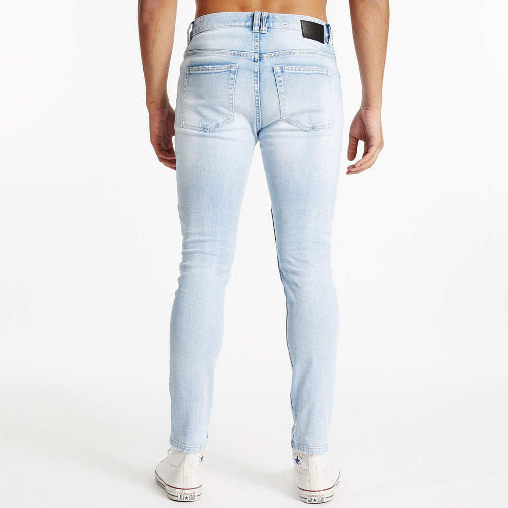 Downtown Biker Jeans Sunburnt Blue