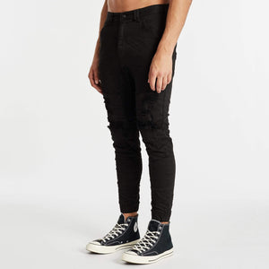 Hydra Denim Jogger Jet Black