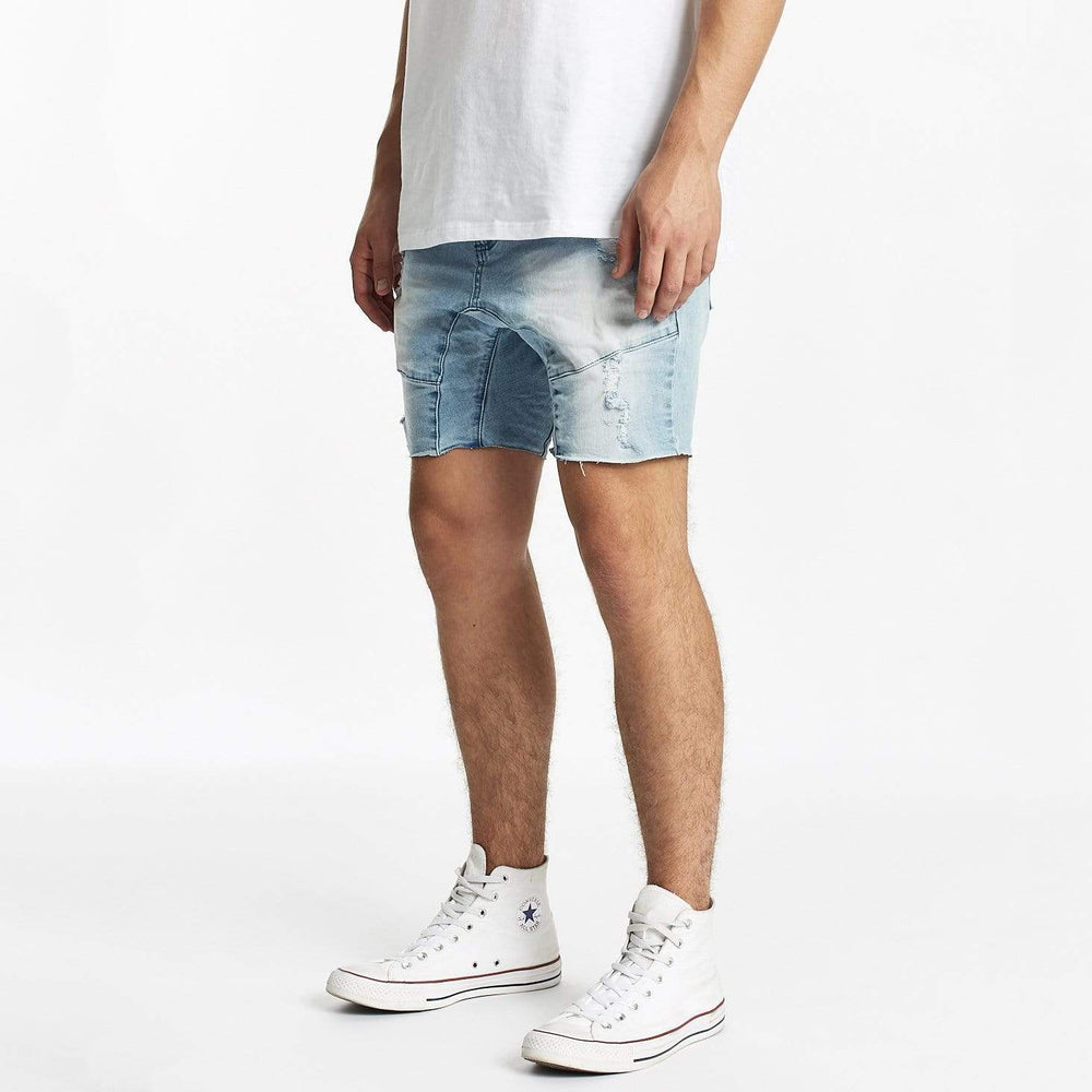 Messiah Denim Short Defiance Blue Raw