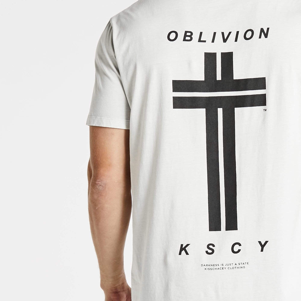 Oblivion Step Hem T-Shirt Acid Rock