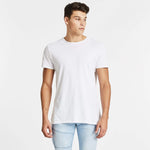 Pace Step Hem T-Shirt White