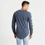 Pursuit Cape Back Long Sleeve T-Shirt Acid Navy