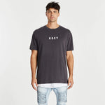 So Long Relaxed Layered T-Shirt Pigment Asphalt