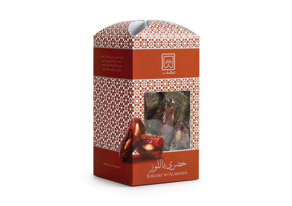 Khudri w/ Almonds single wrap (express)