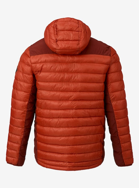 Men's Burton Evergreen Hooded Synthetic Insulator (bitters/fired brick)