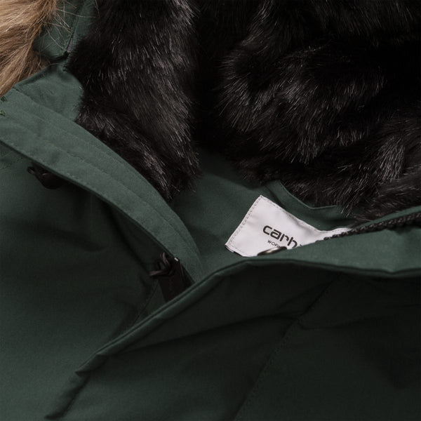 CARHARTT trapper parka (dark fir)