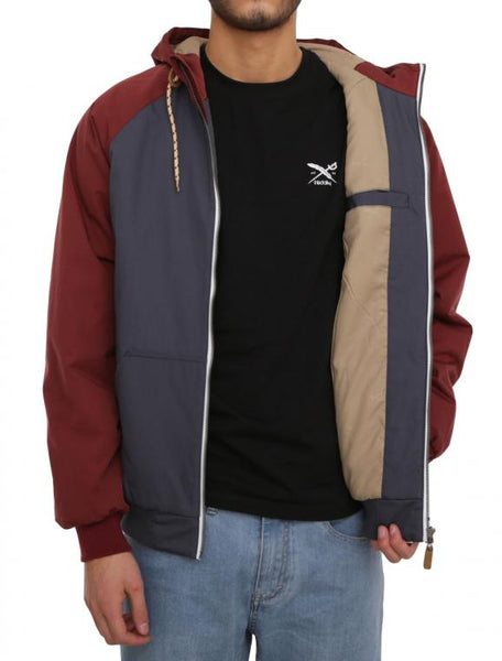 IRIEDAILY Another Flag Jacket (dark rum)