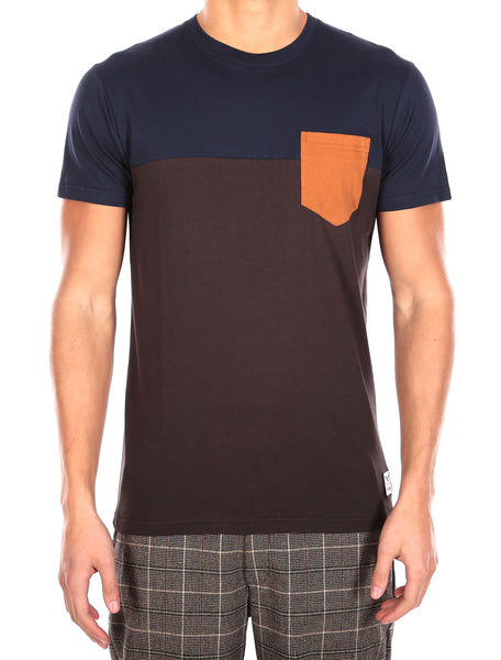 IRIEDAILY Pocket T-Shirt (chocolate)