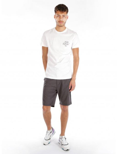 IRIEDAILY golfer chambray short (anthra mel)
