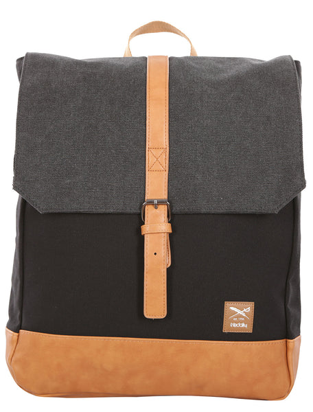 IRIEDAILY heavy backpack (black mel)