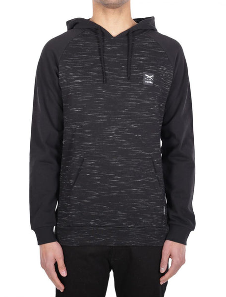 IRIEDAILY injection hoody (black mel)