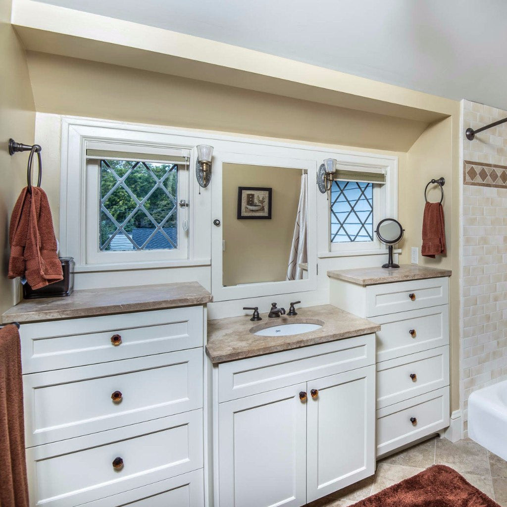 Portland Guest Bathroom Remodel - Highland Ridge Custom Home Remodeling