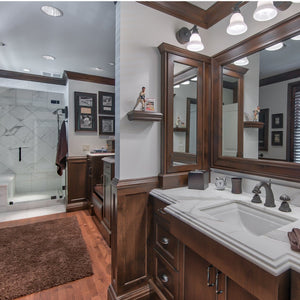 SW Portland Bathroom Remodel - Highland Ridge Custom Home Remodeling
