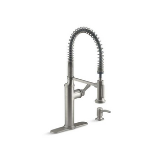 Kohler Sous Pro-Style Single-Handle Pull-Down Sprayer Kitchen Faucet