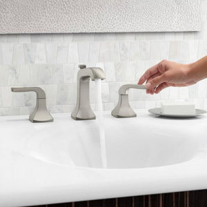 Rubicon 8 in. Widespread Bathroom Faucet - Highland Ridge Custom Home Remodeling
