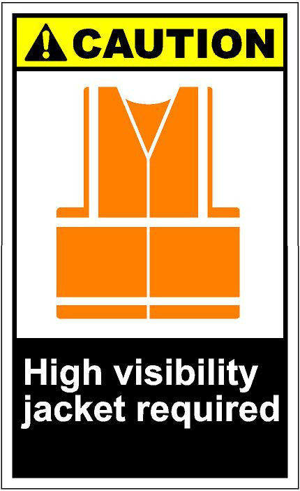 HRT Requirements for High Visibility Jackets