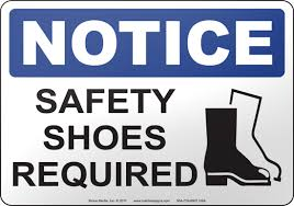 HRT Requirements for Safety Footwear