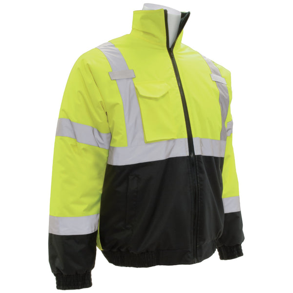 ERB W105 Class 3 Black Bottom Safety Jacket