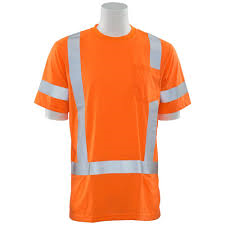 9801S: Class 3 Short Sleeve Safety Shirt w/logo