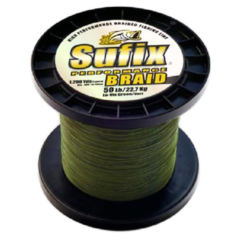 Performance Braid Low Vis Green