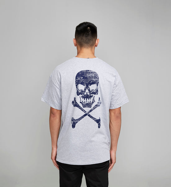 Skull Bones Sports Grey Tshirt