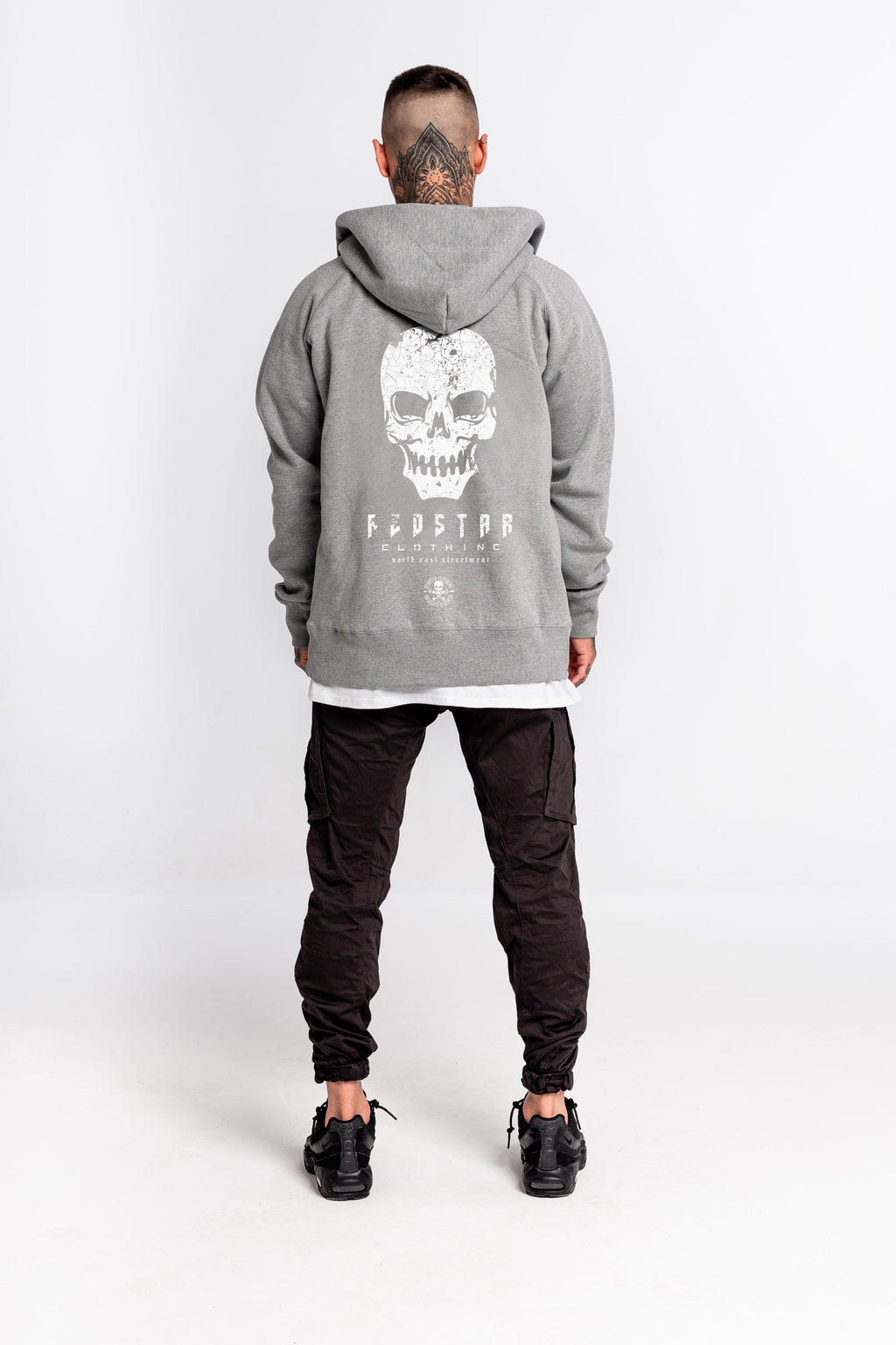Run Down NESW Hoodie Grey