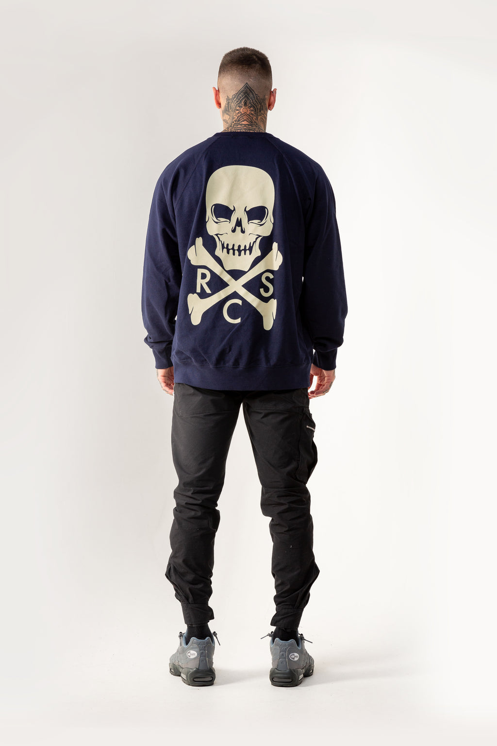 Heritage Skull Sweater Navy