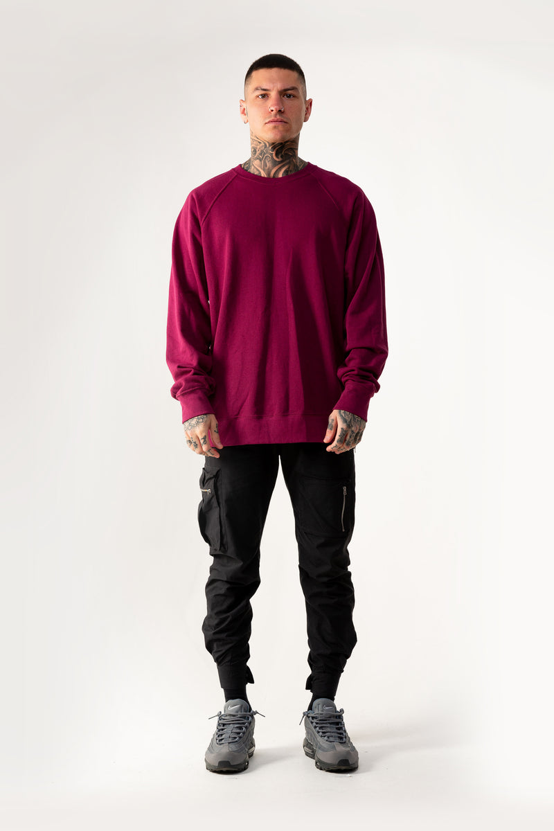 Heritage Skull Burgundy Sweater