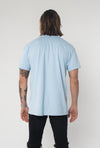Logo Stripe Light Blue Tshirt