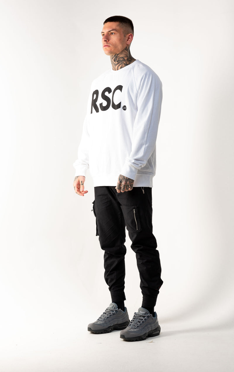 RSC C/B White Sweater