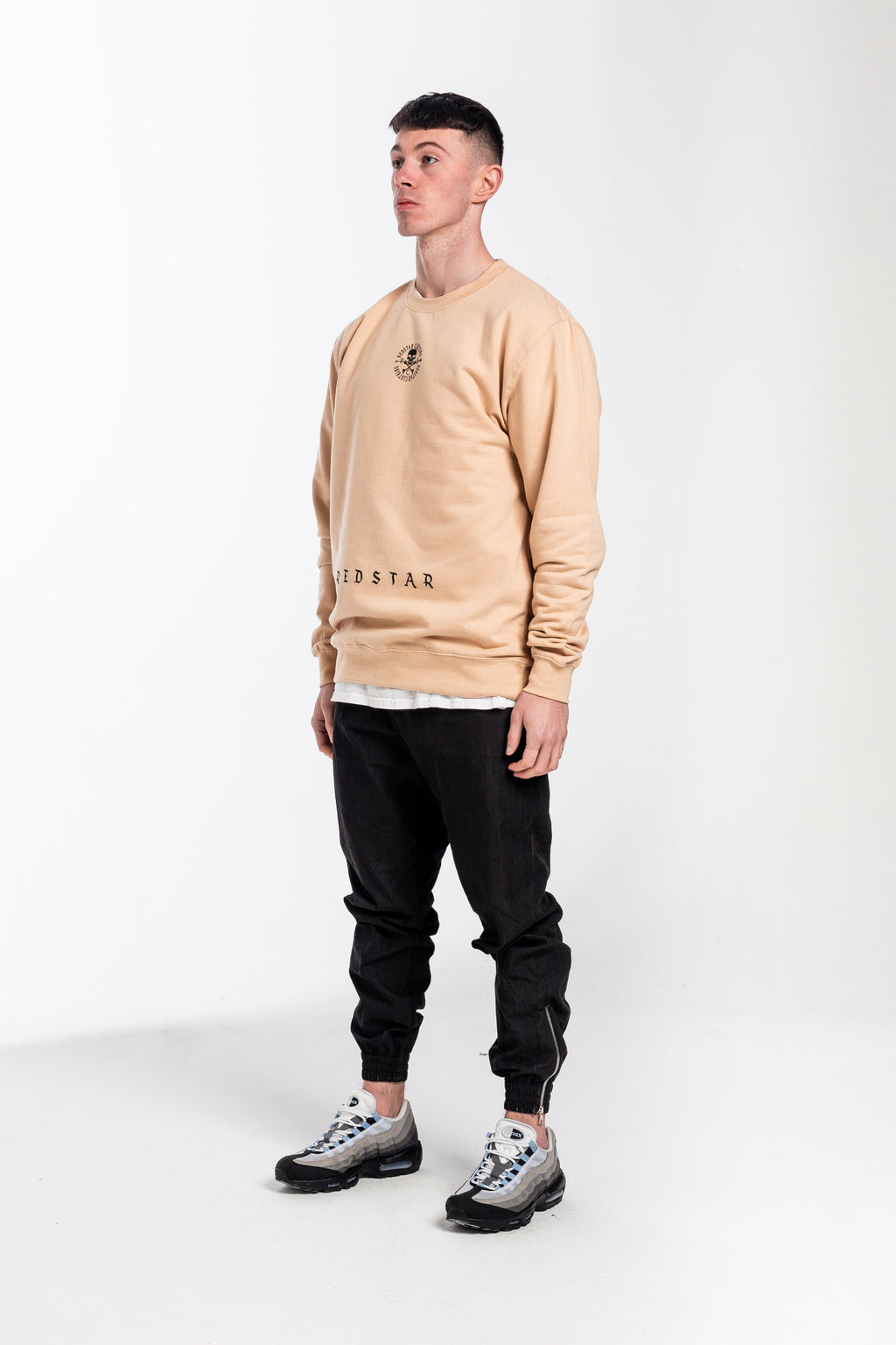 Double Centre Heavyweight Sweater Neutral