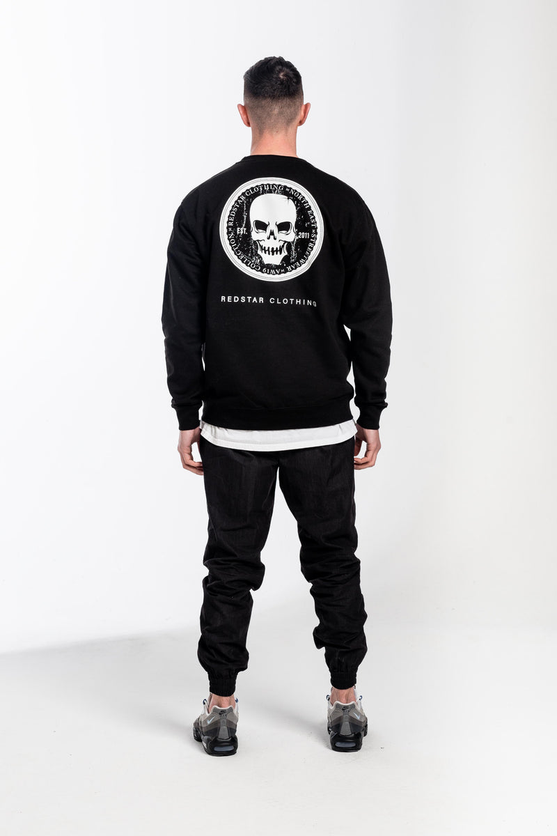 Coin Heavyweight Sweater Black