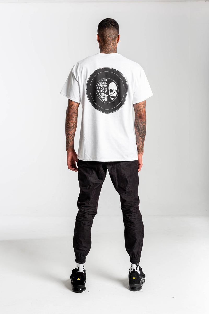 Redstar x Jacky Collaboration White Tshirt - Back print