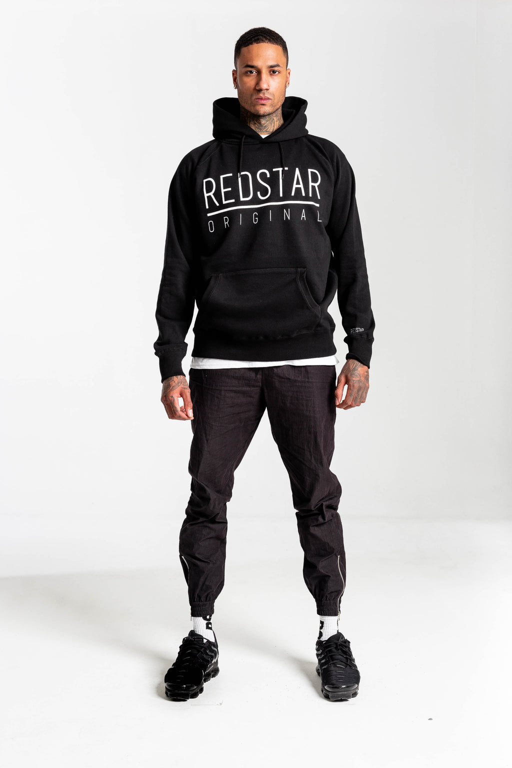 Redstar Originals Hoodie Black