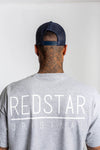Redstar Double R Navy Trucker Cap