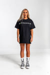 Ladies Vintage Navy Tshirt