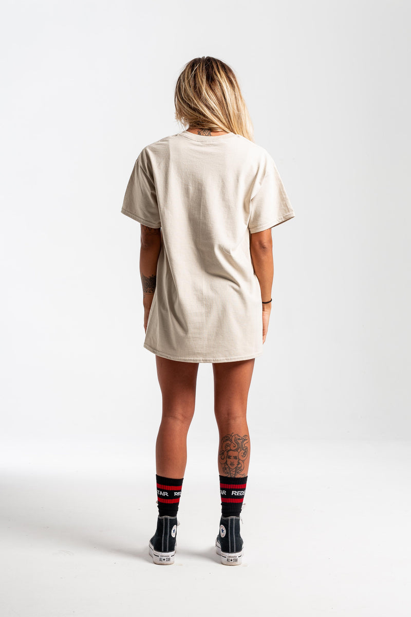 RR Reverse Sand Tshirt - Front print