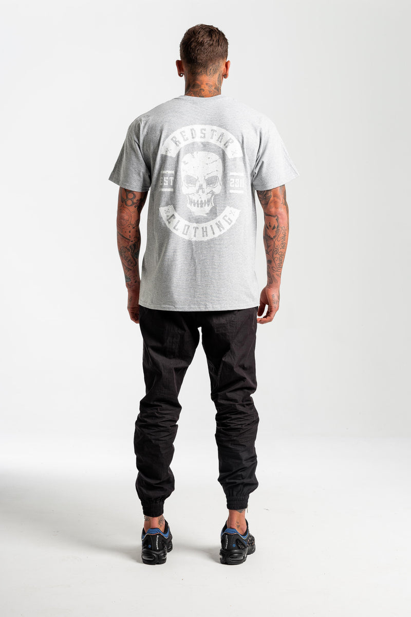 Biker Grey T-shirt - Back print