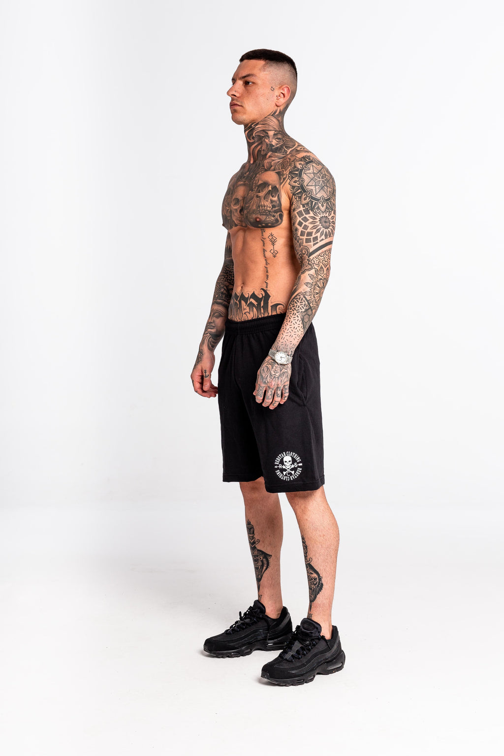 O/G Black Sweat Shorts