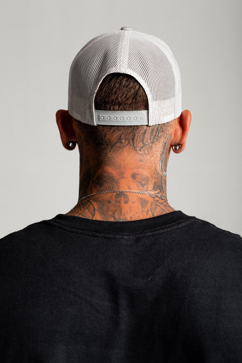 Onyx Light Grey Trucker Cap