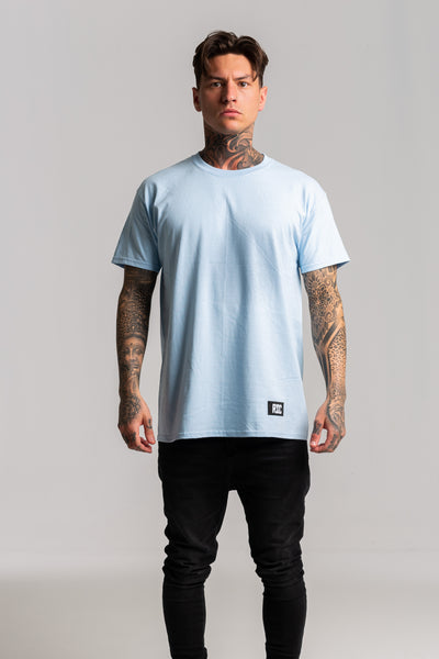 Skull Back Light Blue T-shirt