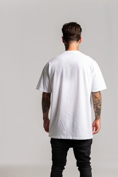 Distressed G White T-shirt