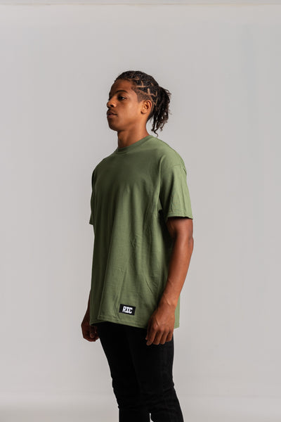 Vintage Military Green T-shirt