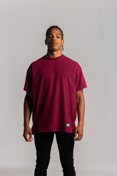 Skull Back Burgundy T-shirt
