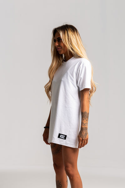 Ladies Vintage White Tshirt